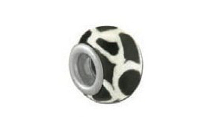 Black & White Animal Bead