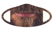 Man Beard Face Mask