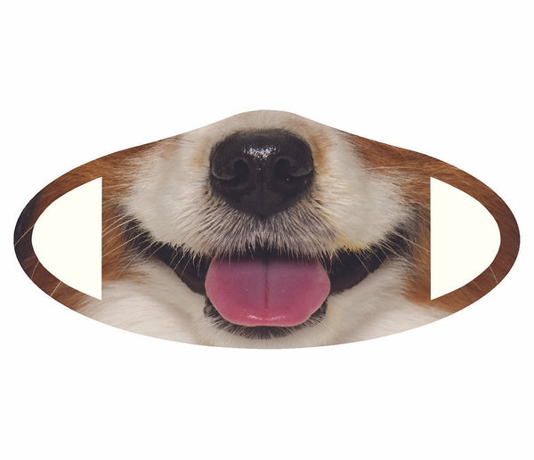 Kids Dog Face Mask