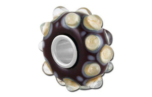Mars Glass Bead - Brown
