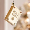 Glass Bible Ornament