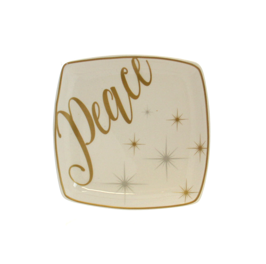 Christmas Tidbit Dish - Peace