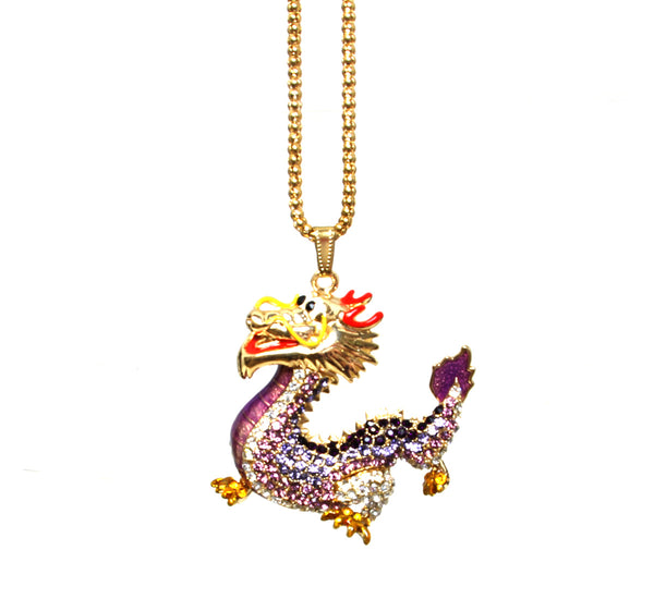 Dragon Necklace, Betsey Johnson