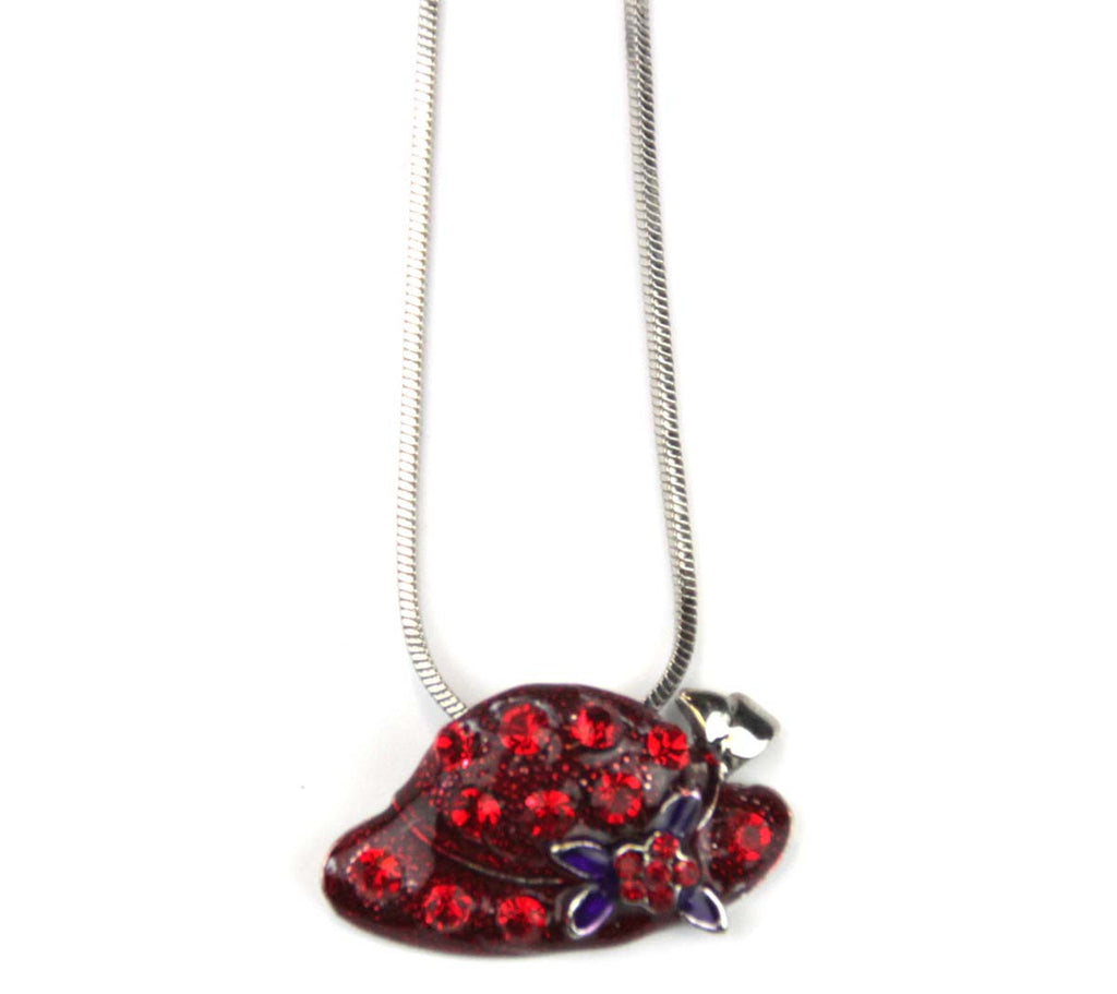 Red Hat Necklace