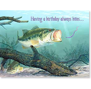 Birthday Card: Fish