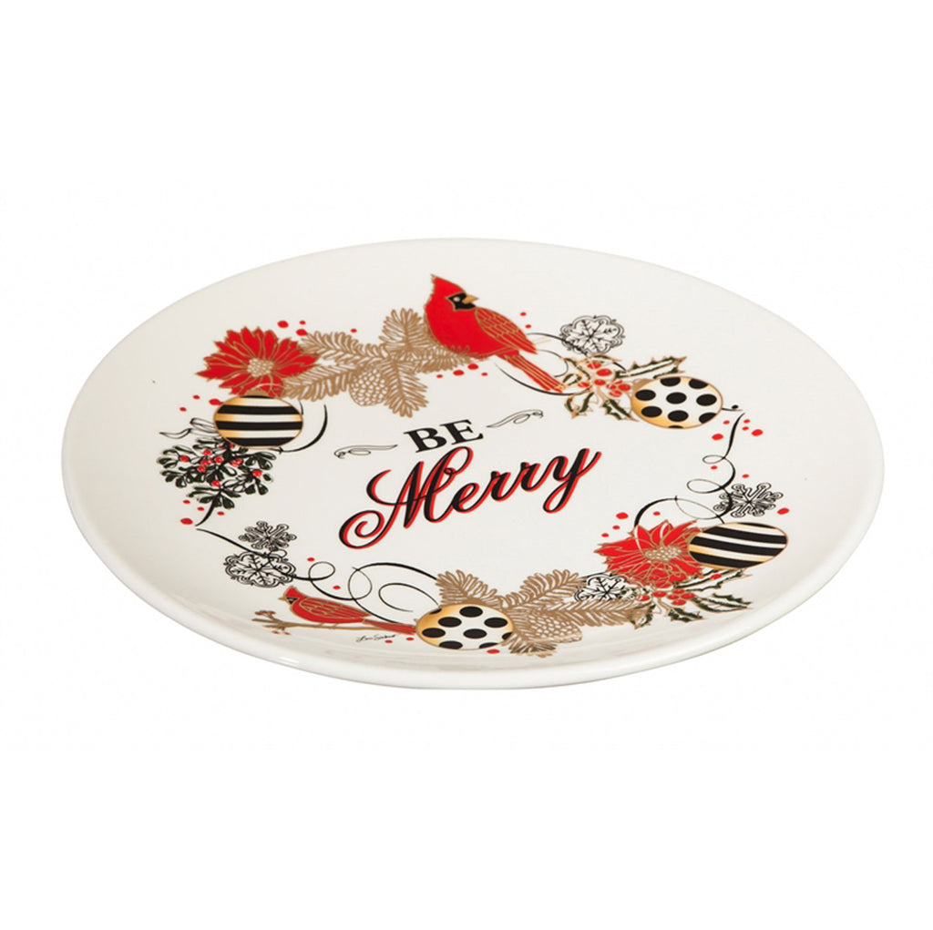 Be Merry Christmas Platter