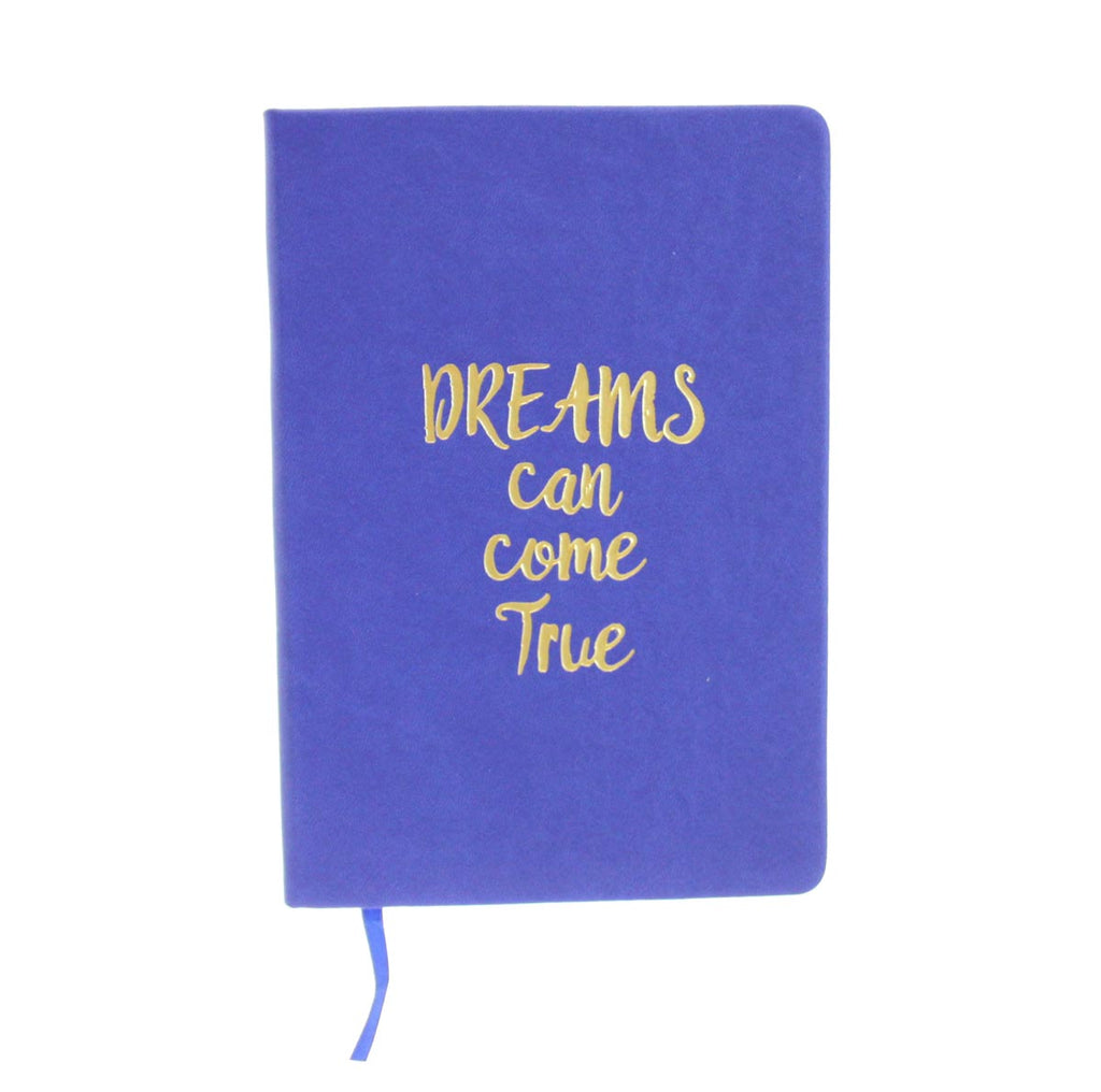 Leather Note Book-Dreams Blue