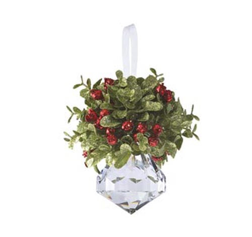 Mini Mistletoe Krystal Ornament - Jewel