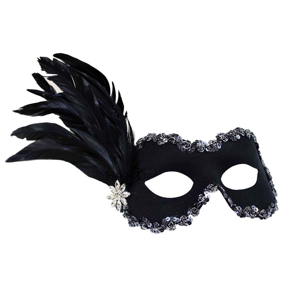 Belle Black Mask