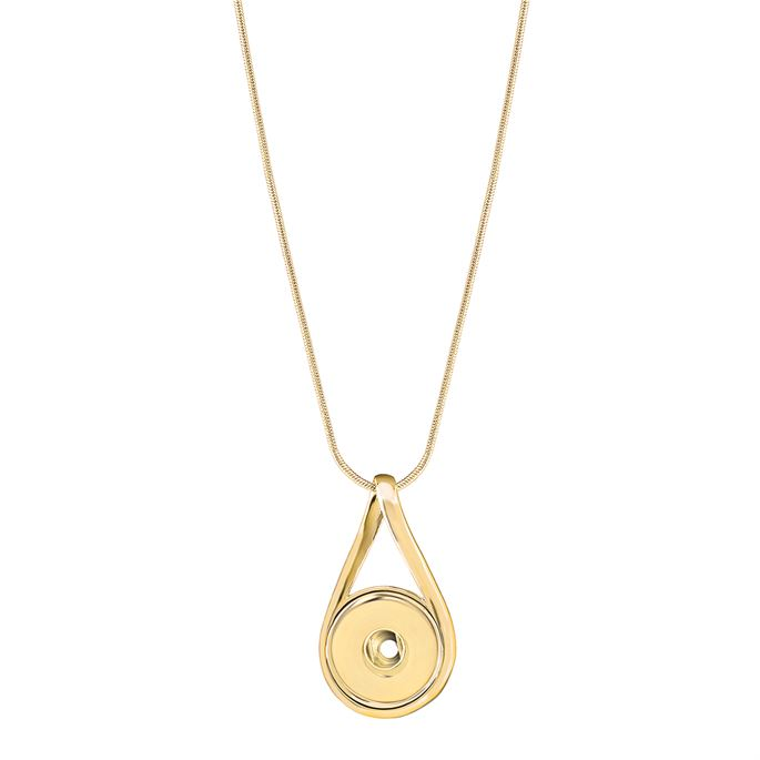 Ginger Snaps Petite Necklace Infinity-Gold