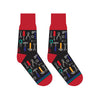 Yo Sox Men's Socks Tools