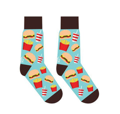 Yo Sox Men's Burger Design