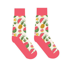 Yo Sox Women's Crew Socks Fruit