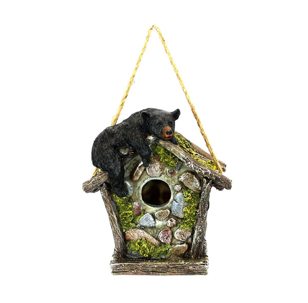 Birdhouse Bear with Cobblestone