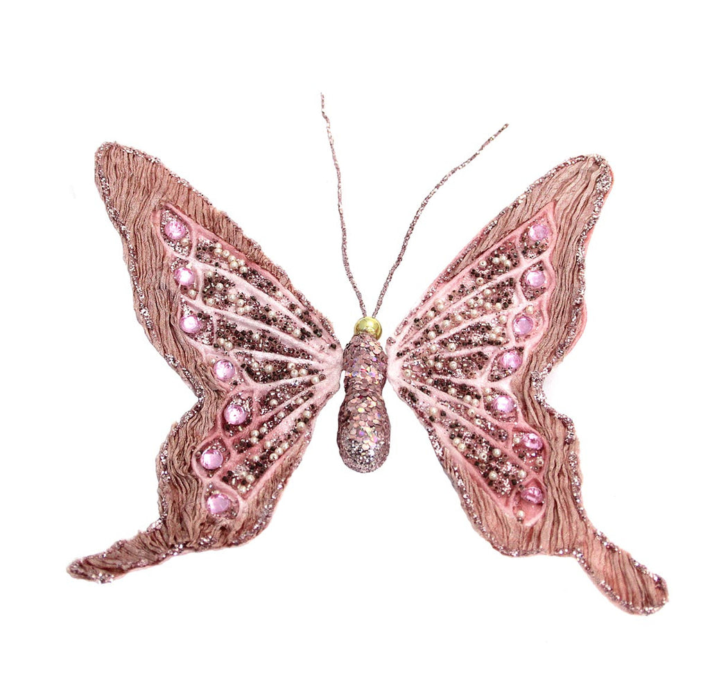 Butterfly Ornament Pink