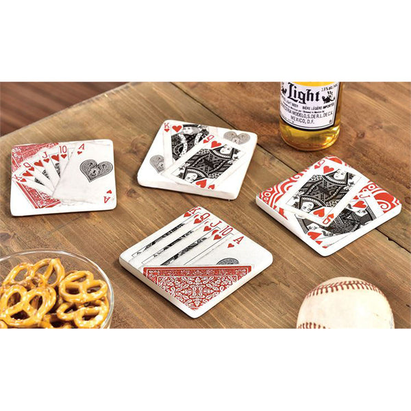 Coasters-Playing Cards
