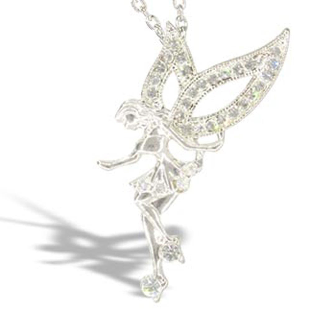 Fairy Necklace Silver