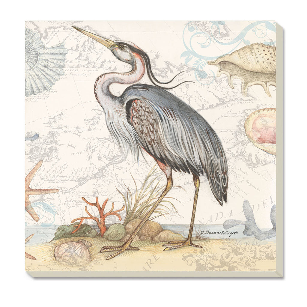 Coasters-Blue Heron