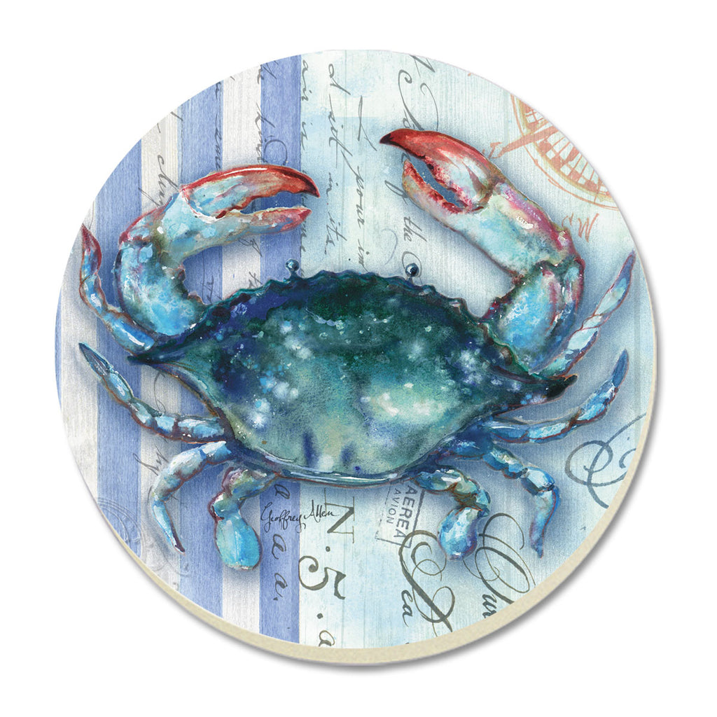 Coasters-Striped Blue Crab
