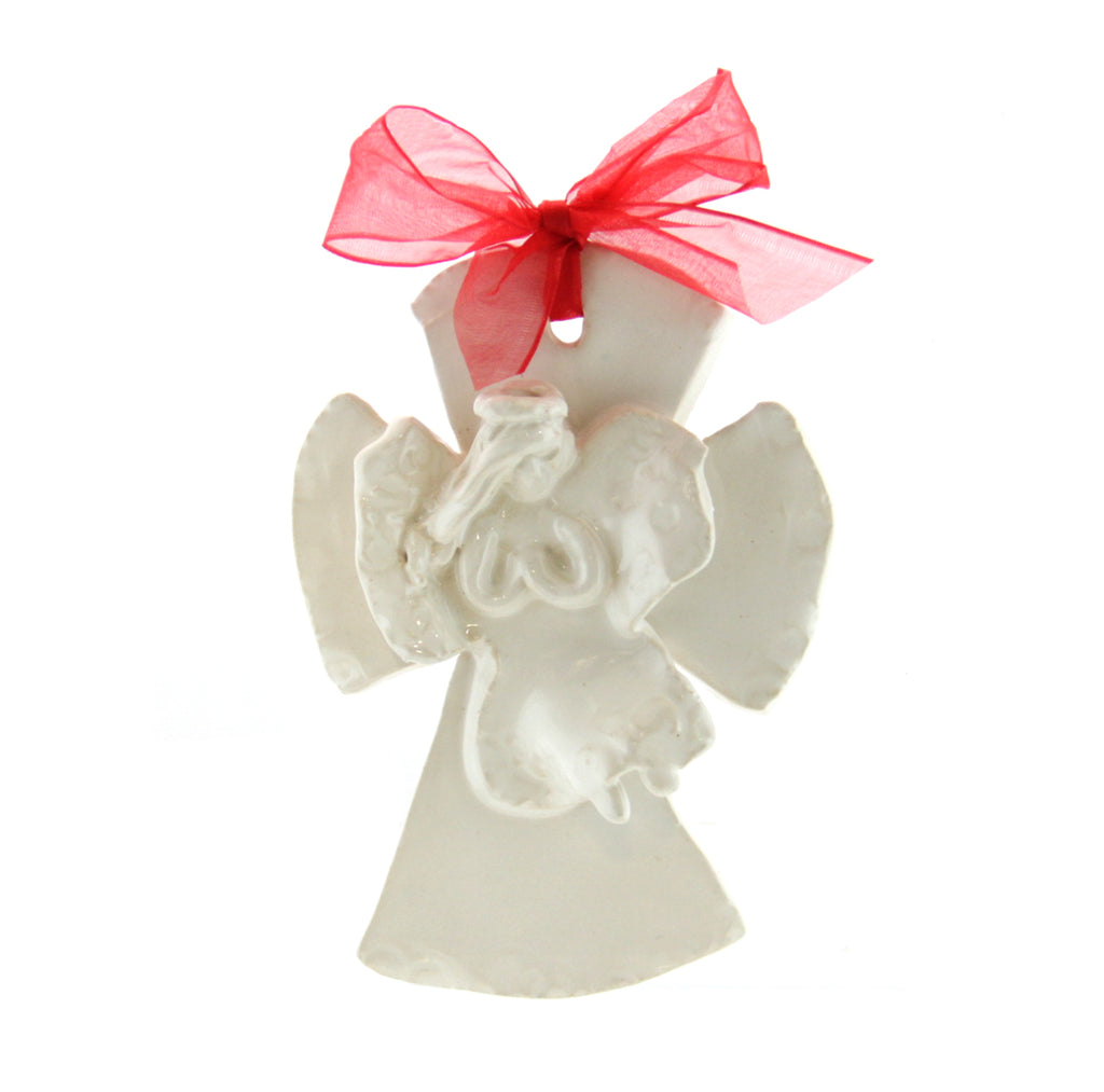 Kimberly Lang Hurricane Cross Large-Opaque White Angel