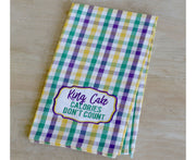 King Cake Towel