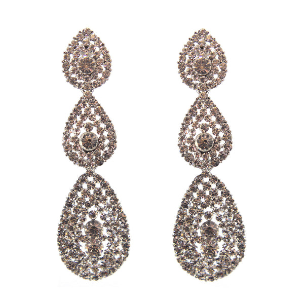 Simply Fabulous Rhinestone Earrings
