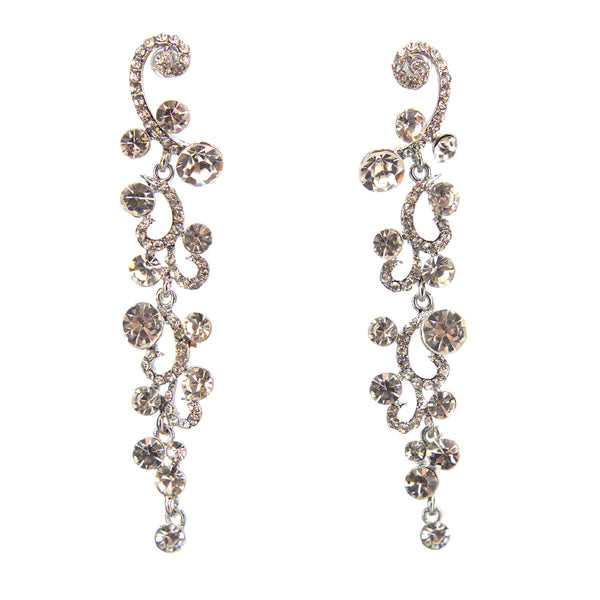 Hollywood Glamour Drop Earrings