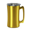 20oz Stainless Steel Stein-Jeweled Gold