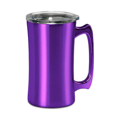 20oz Stainless Steel Stein-Jeweled Purple