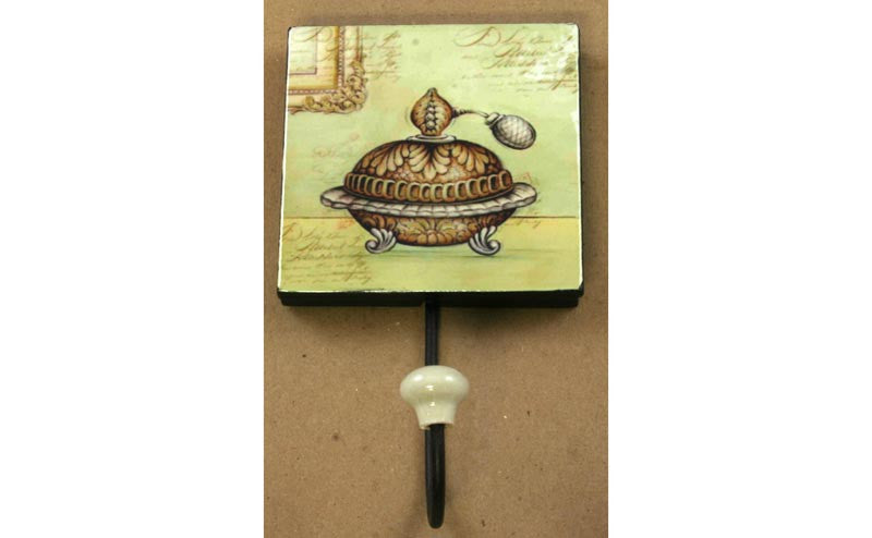 Ladies Room Perfume Wall Hook
