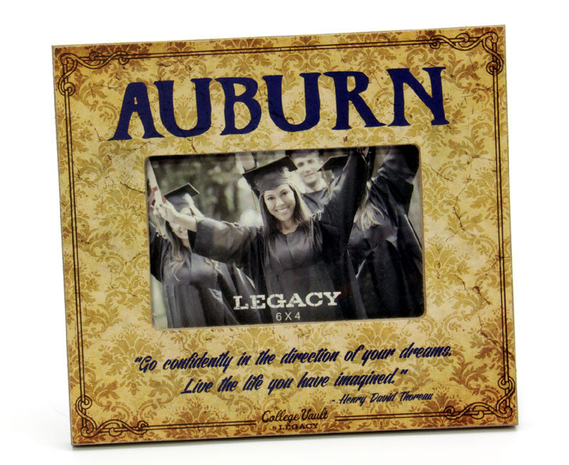 "Picture Frame 6"" x 4"" Auburn"