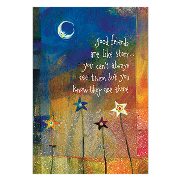 Friendship Card: thank you for being a shining star in my life