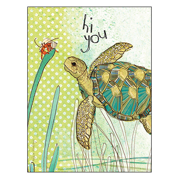 Thinking of You Card: It's just me thinking of you