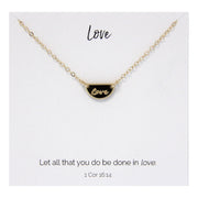 Love Necklace 14kt Gold Filled