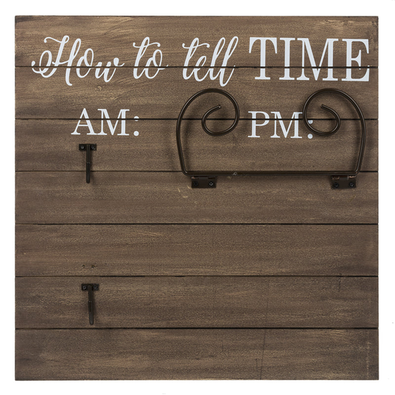 Plaque - How To Tell Time