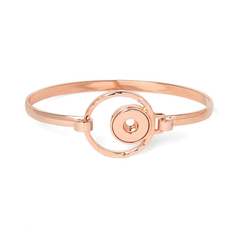Petite Ginger Snaps Bracelet Moon Beam-Rose Gold