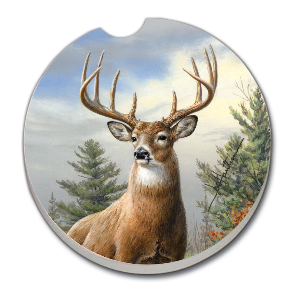 Car Coasters - Deer Morning Light