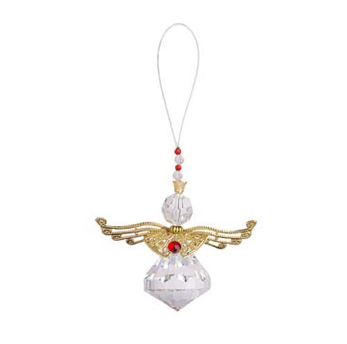 Metallic Angel Ornament-Gold Jewel