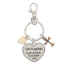 Key Ring - Love is patient, love is kind, love never ends