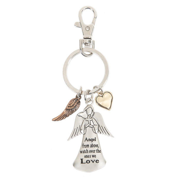 Key Ring - Angel from above, watch over the ones we love