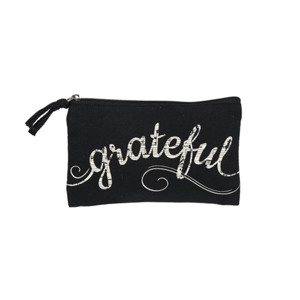 Cosmetic Bag - grateful