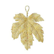 Shimmer Fall Leaves Gold Medium
