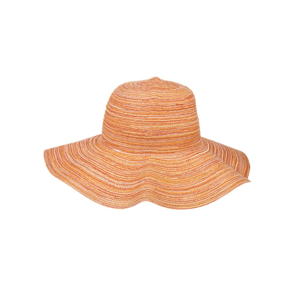 Citrus Sun Hat-Orange