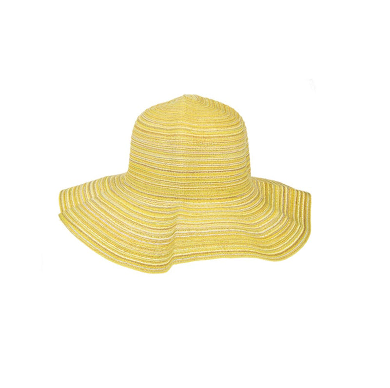 Citrus Sun Hat-Yellow