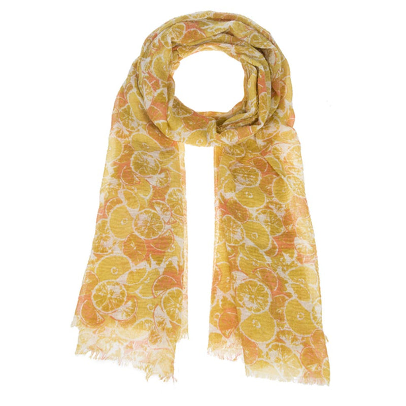 Summer Citrus Scarf