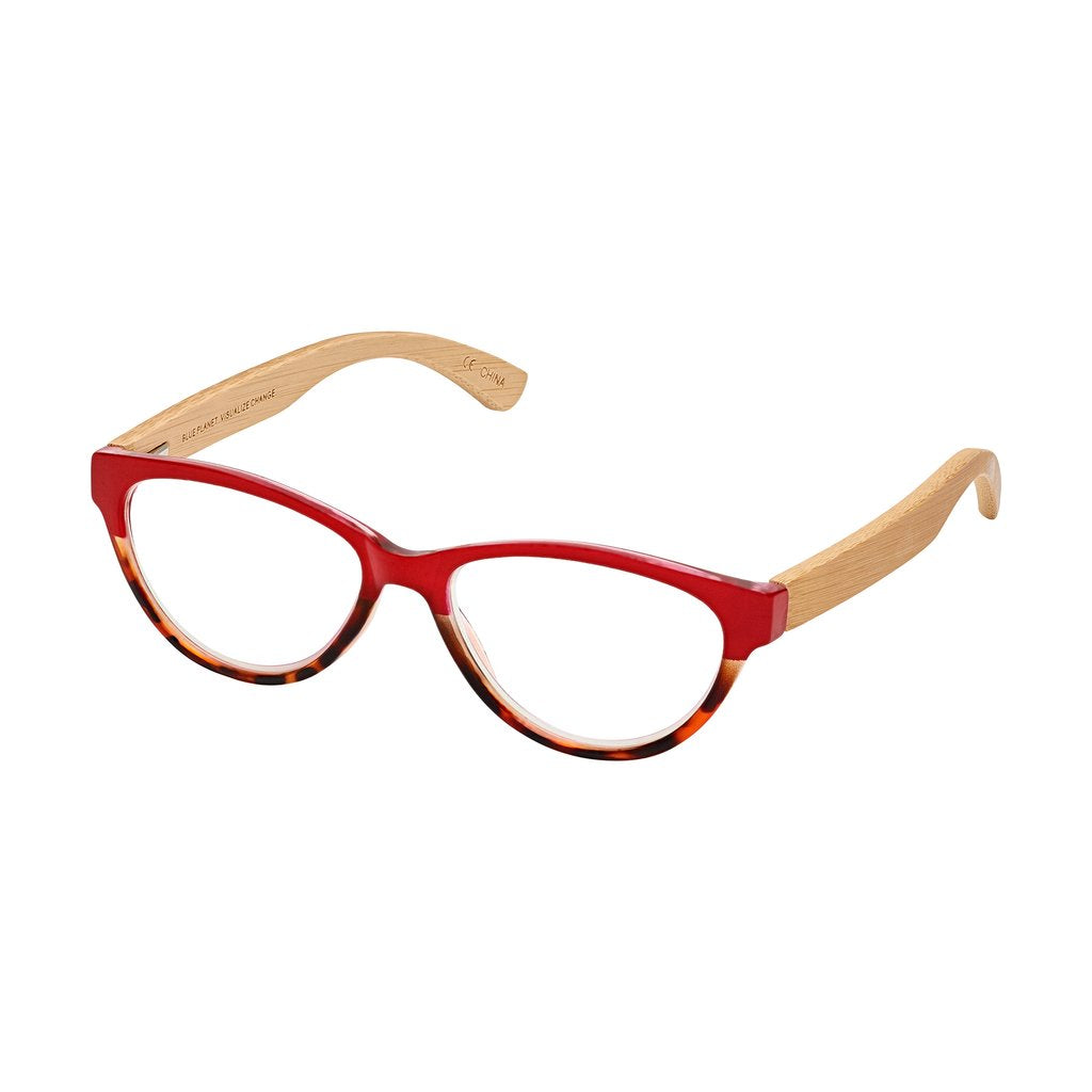 '+2.25 Lucia Bamboo Readers-Red