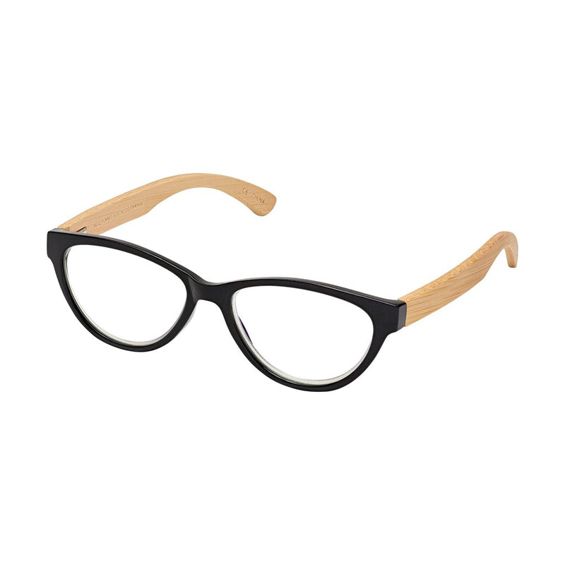 '+2.00 Lucia Bamboo Readers-Black