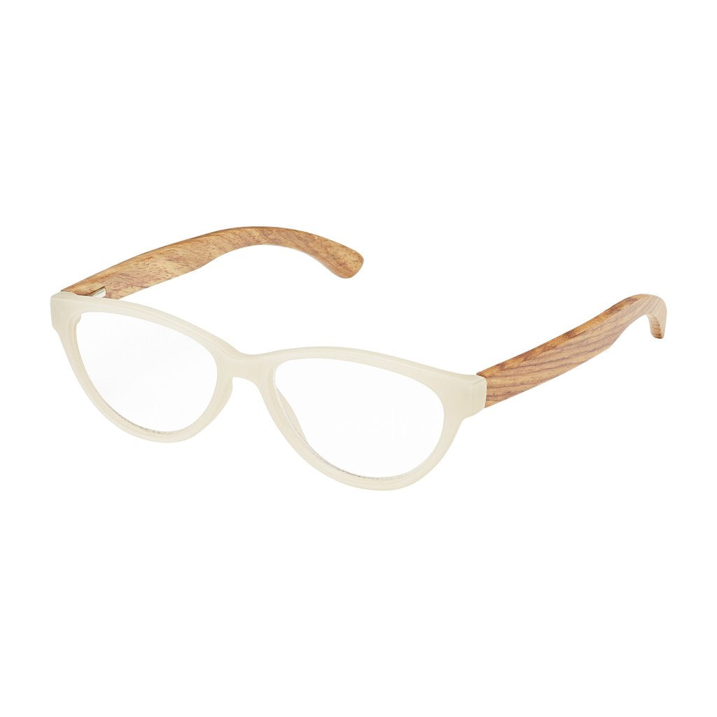 '+2.00 Madison Rosewood Readers-White