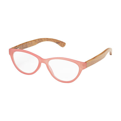 '+1.25 Madison Rosewood Readers-Pink
