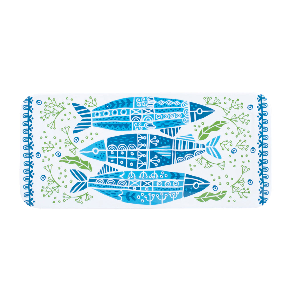 Coastal Rectangle Platter Fish